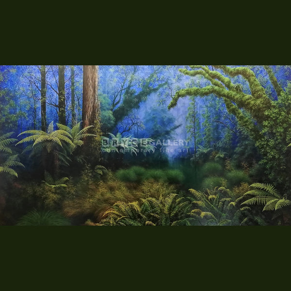 Westland Rainforest West Coast Painting