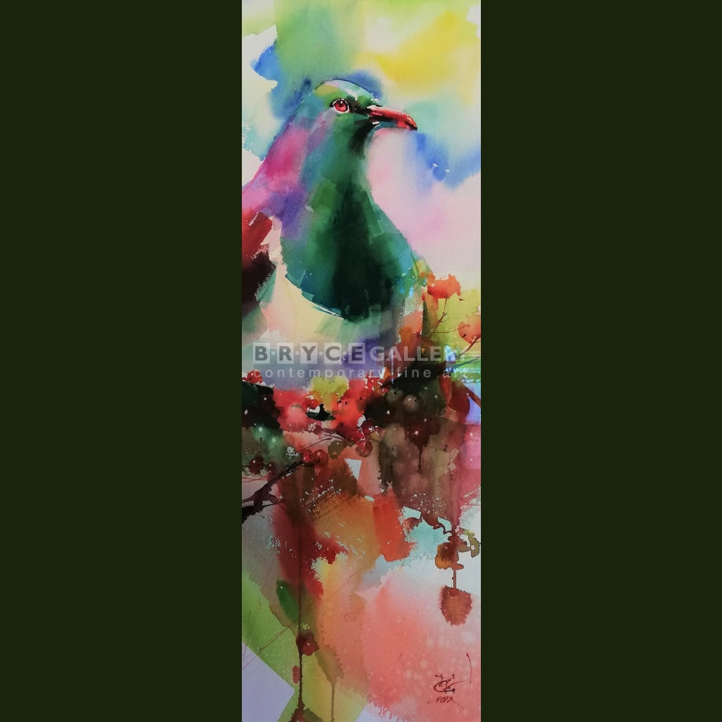 Wood Pigeon 2 Painting