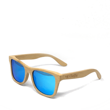 Polarized Bamboo Sunglasses Natural Frame- 4 Colors