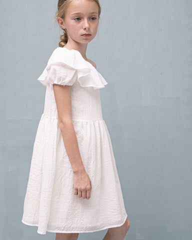 Hiedra Dress in White