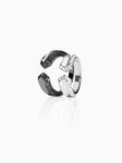 CRIOUS S | RING | BLACK DIAMOND