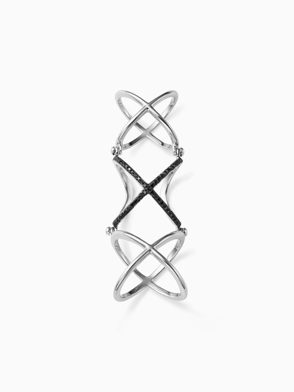 Mobius / 3Rings / Diamond / Silver