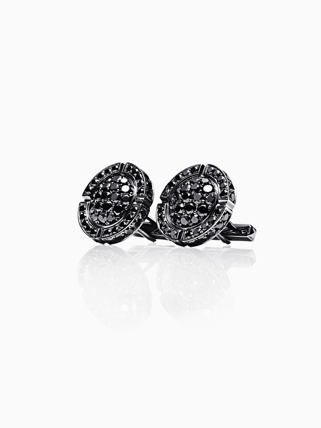Adrastea / Cufflinks / Diamond / Silver
