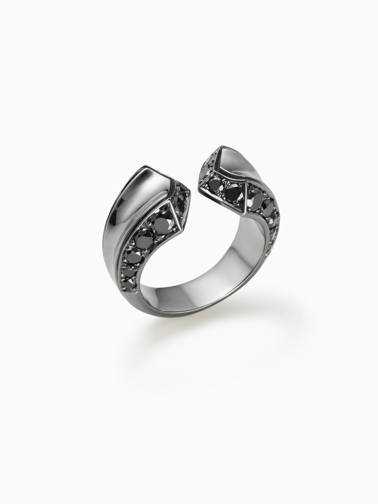 CRIOUS L | RING | DIAMOND | SILVER