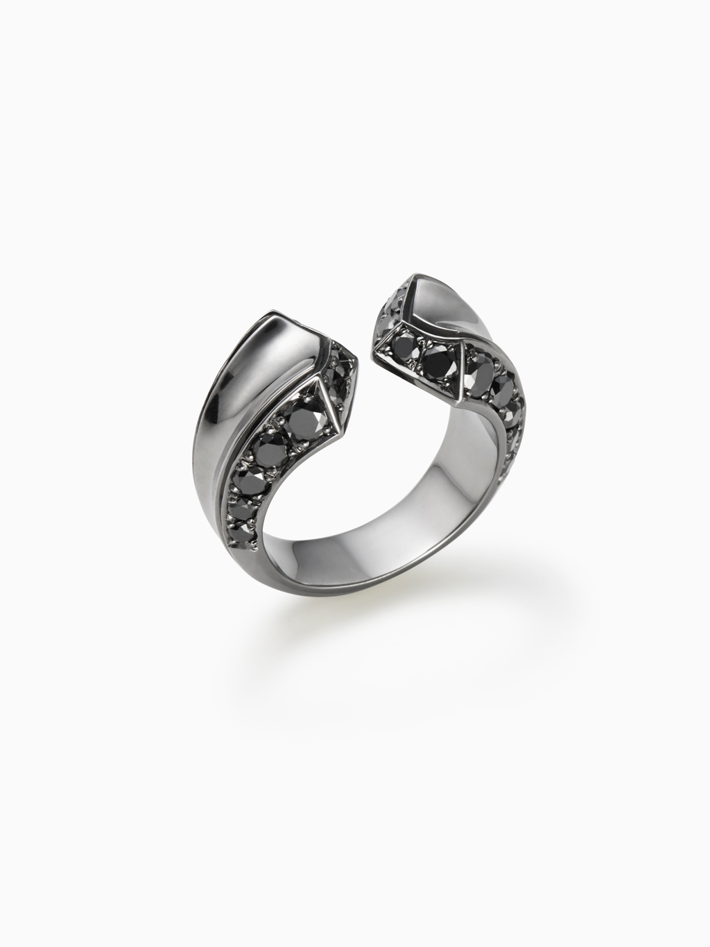 Crious L / Ring / Diamond / Silver