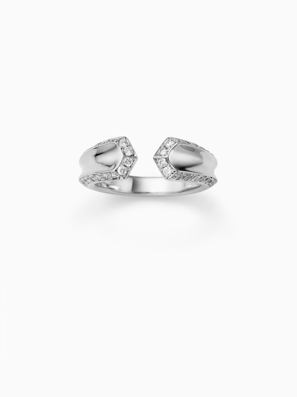 Crious M / Ring / Diamond / Silver