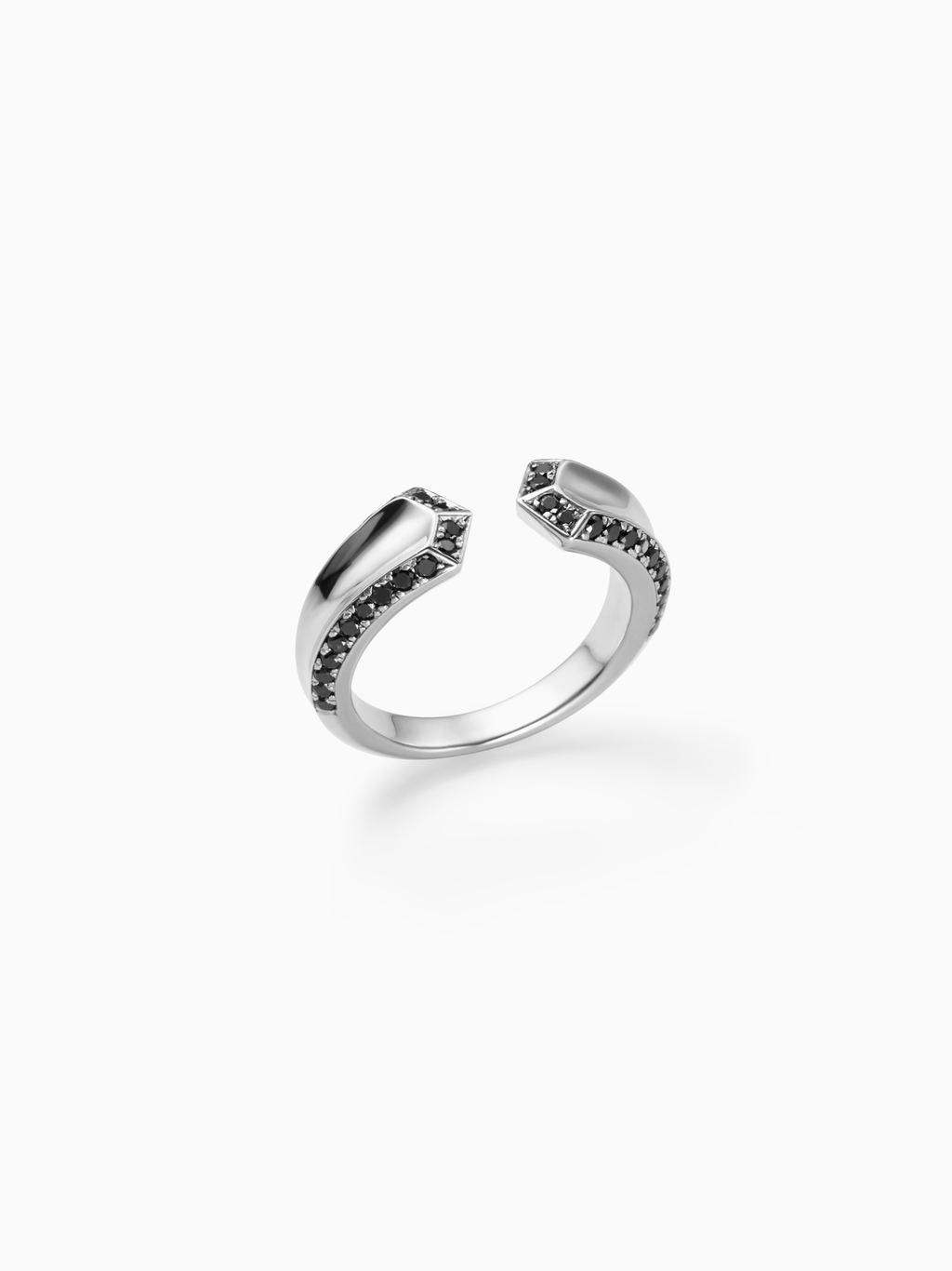 CRIOUS M | RING | DIAMOND | SILVER