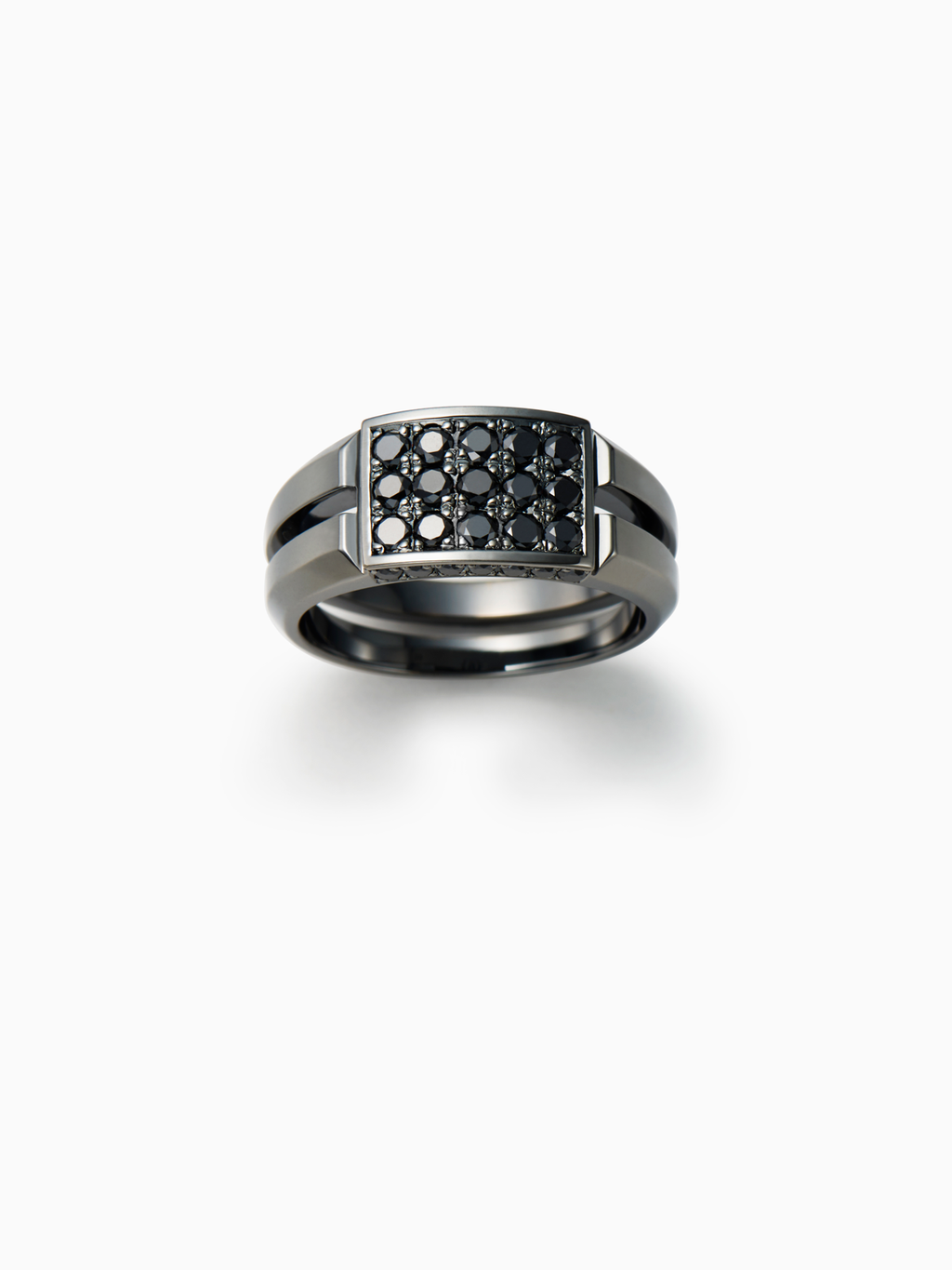 Mercury / Ring / Diamond / Silver