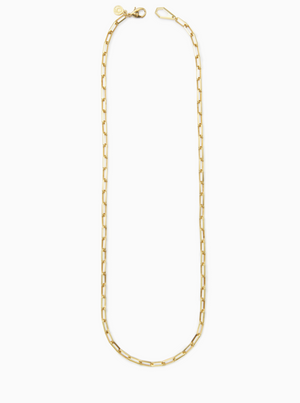 MIRROW | NECKLACE | GOLD