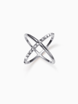 MOBIUS STUDS | RING | SILVER