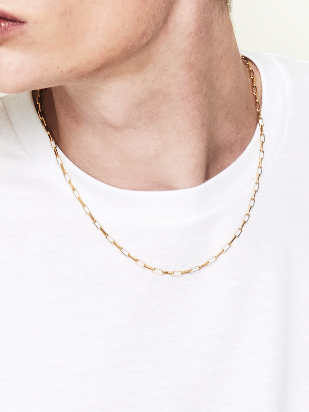 Mirrow / Necklace / Gold