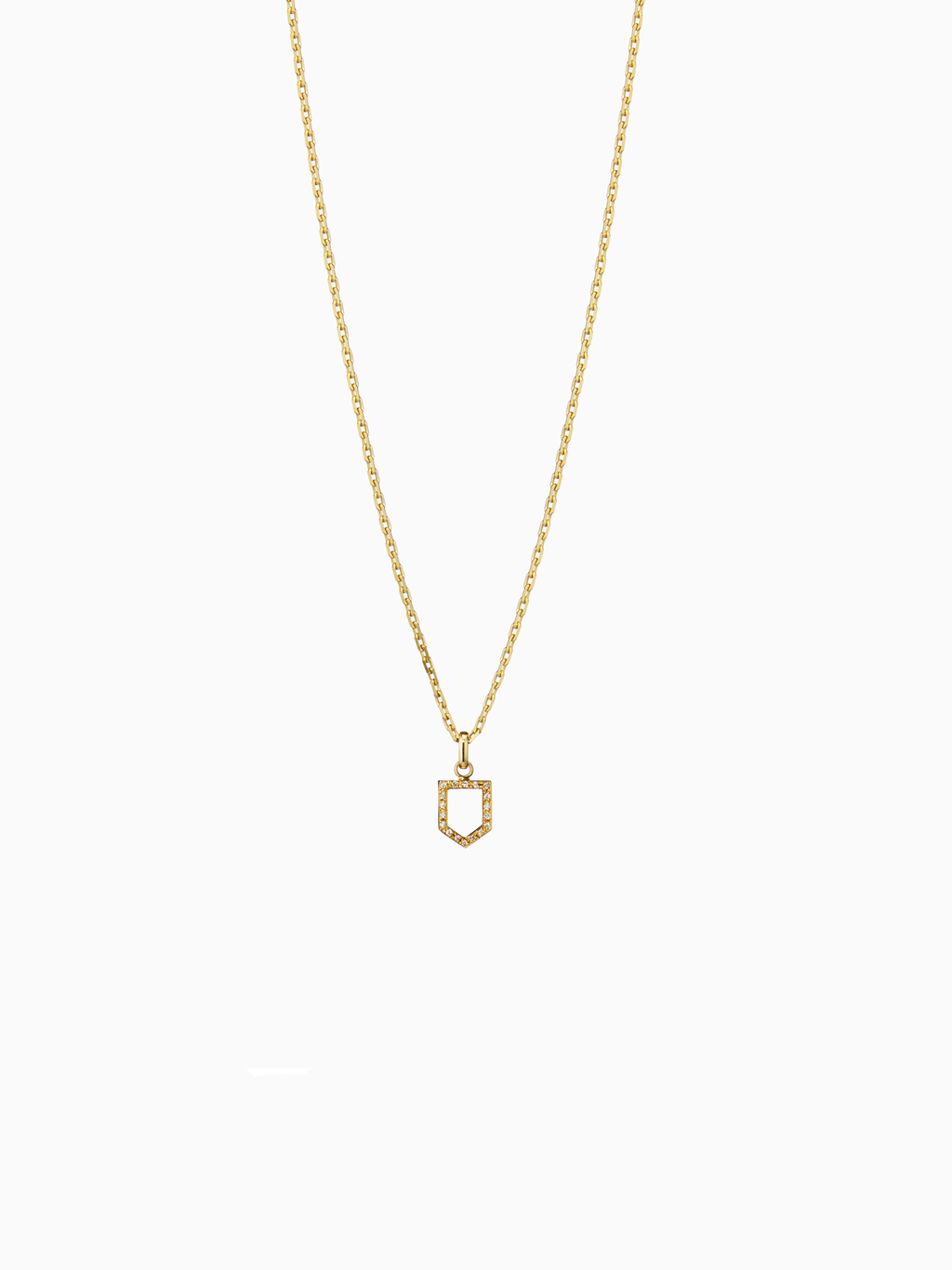 Numeral.0 S / Pendant / Diamond / Gold