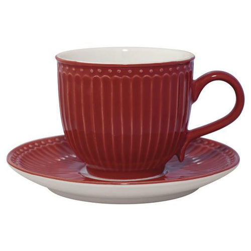 Alice Red Tazza The Greengate segni-particolari-home Tazze da The