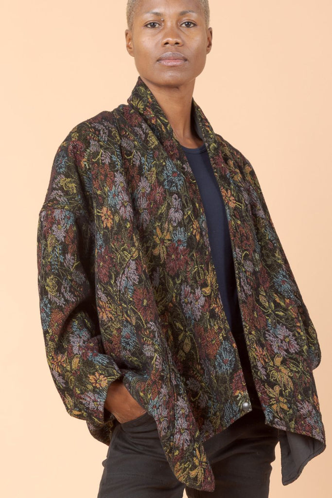 Tapestry Moth Coat - Tunnel