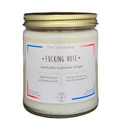 Fucking Vote Candle 8oz