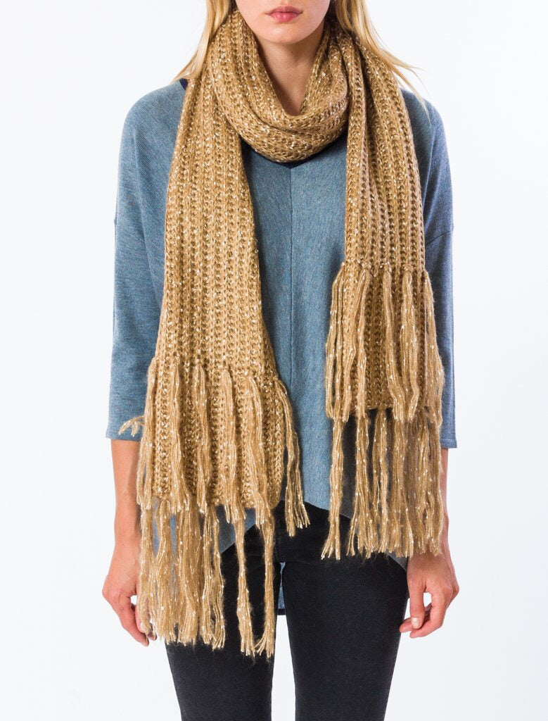 Hook Scarf - Buckwheat