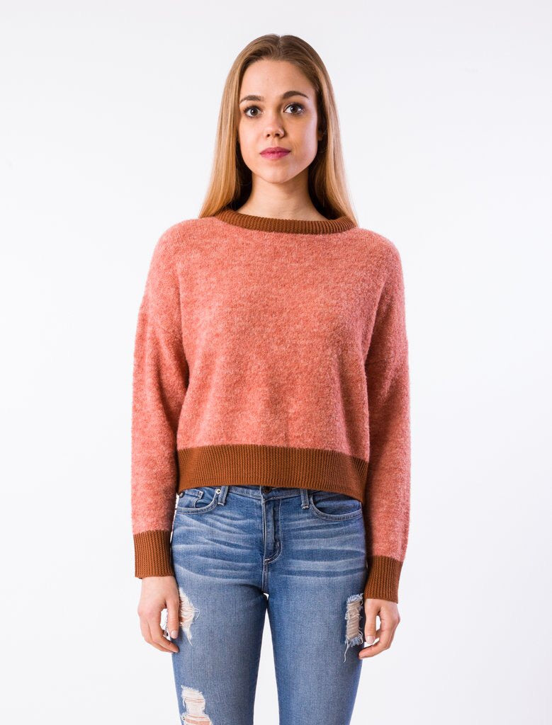 Wooster Sweater - Rose Multi