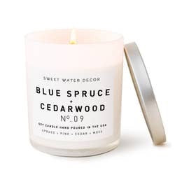 Blue Spruce and Cedarwood Soy Candle