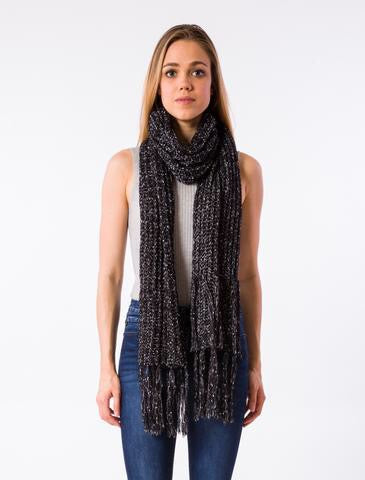 Hook Scarf - Cosmic Black