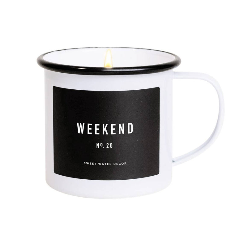 Weekend Soy Mug Candle