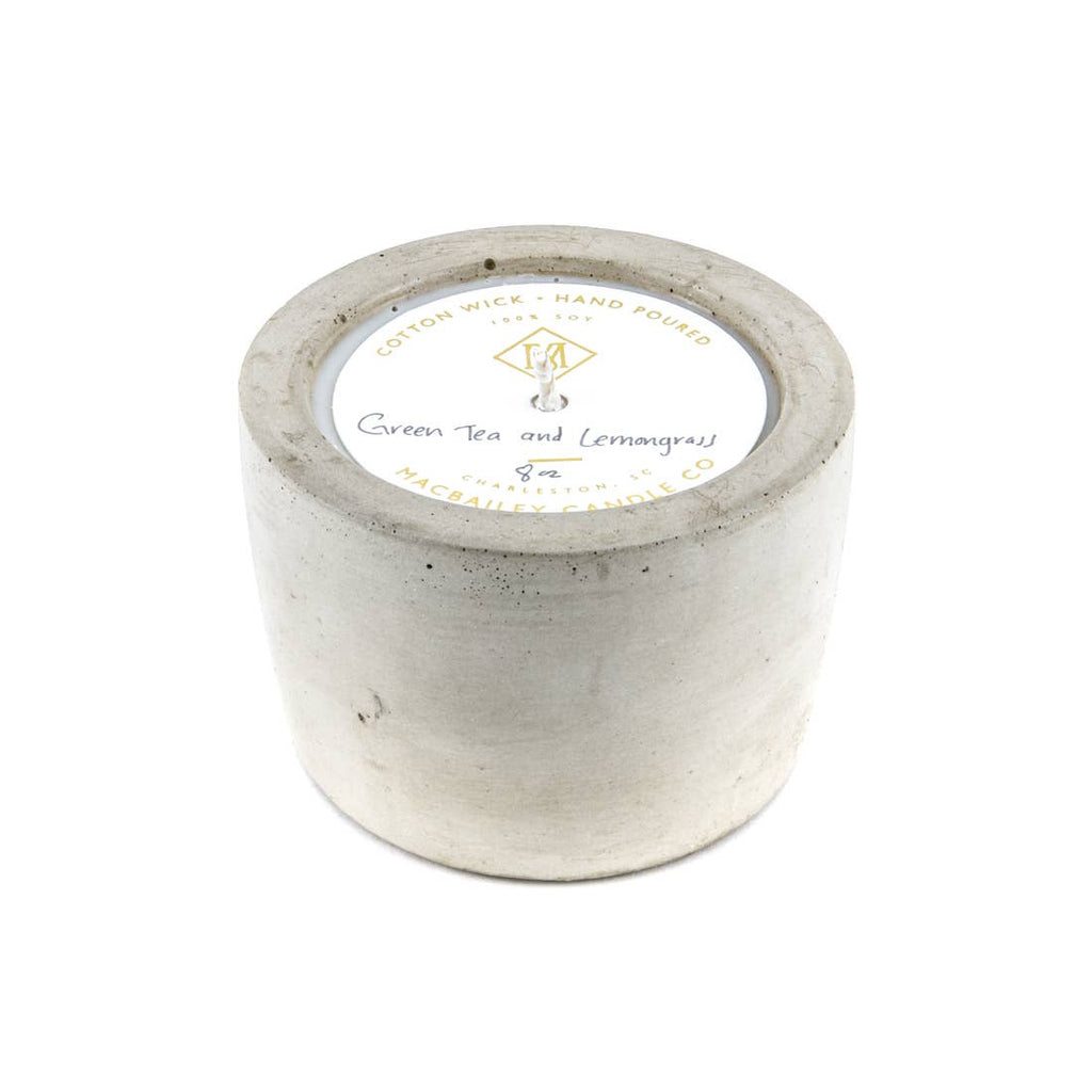 Concrete Candle 8oz Harvest