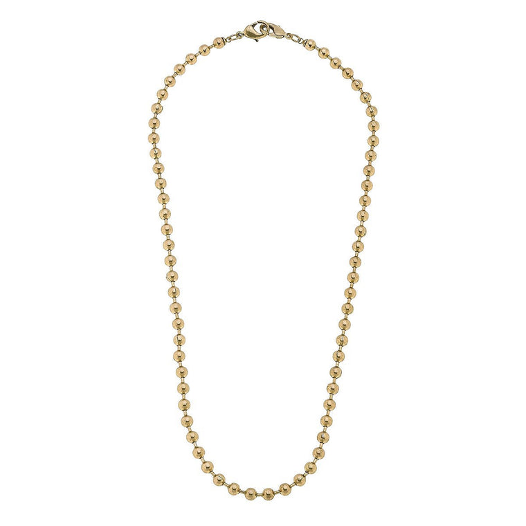 Soleil Ball Chain  2 in 1 Necklace