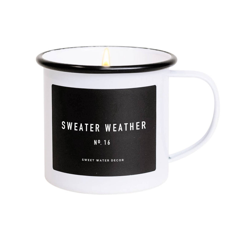 Sweater Weather Soy Mug Candle