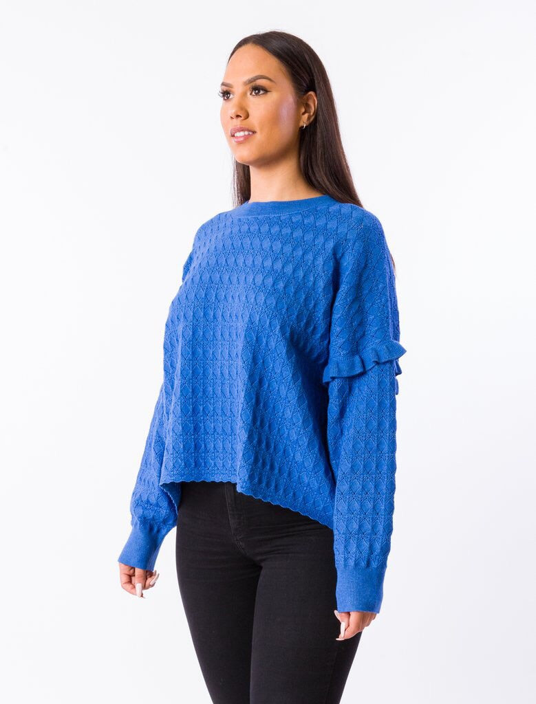 Gypsy Sweater - Persian Blue