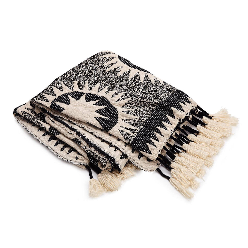 Soleil Throw Blanket by Makers Collective