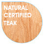 Certified Natural Teak Wood