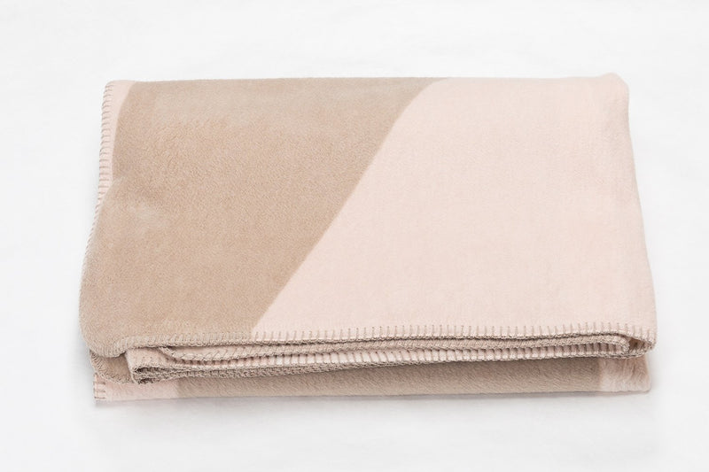 SAVONA Cotton Velour Throw | Rose | 150 x 200 cm