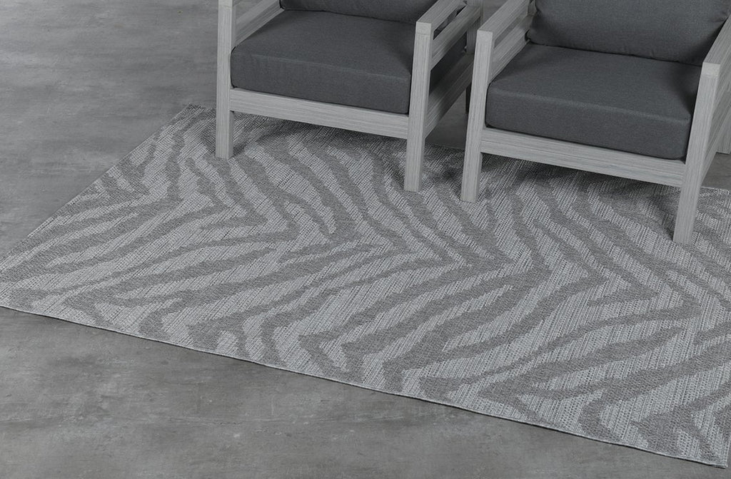 Hides Outdoor Rug  | Grey