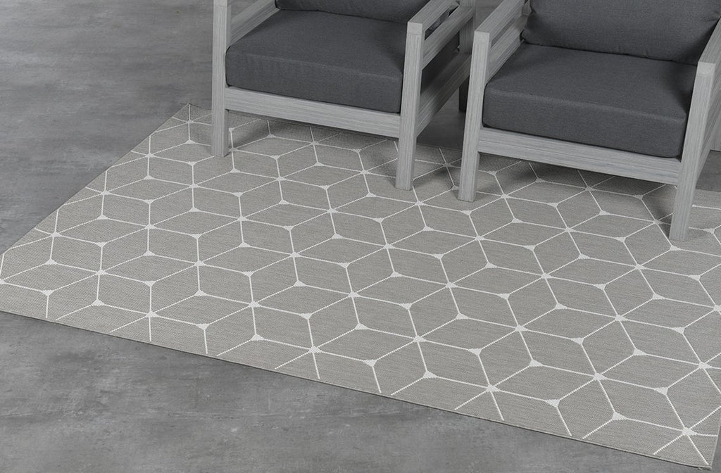 Danish Diamonds Outdoor Rug  | Sand