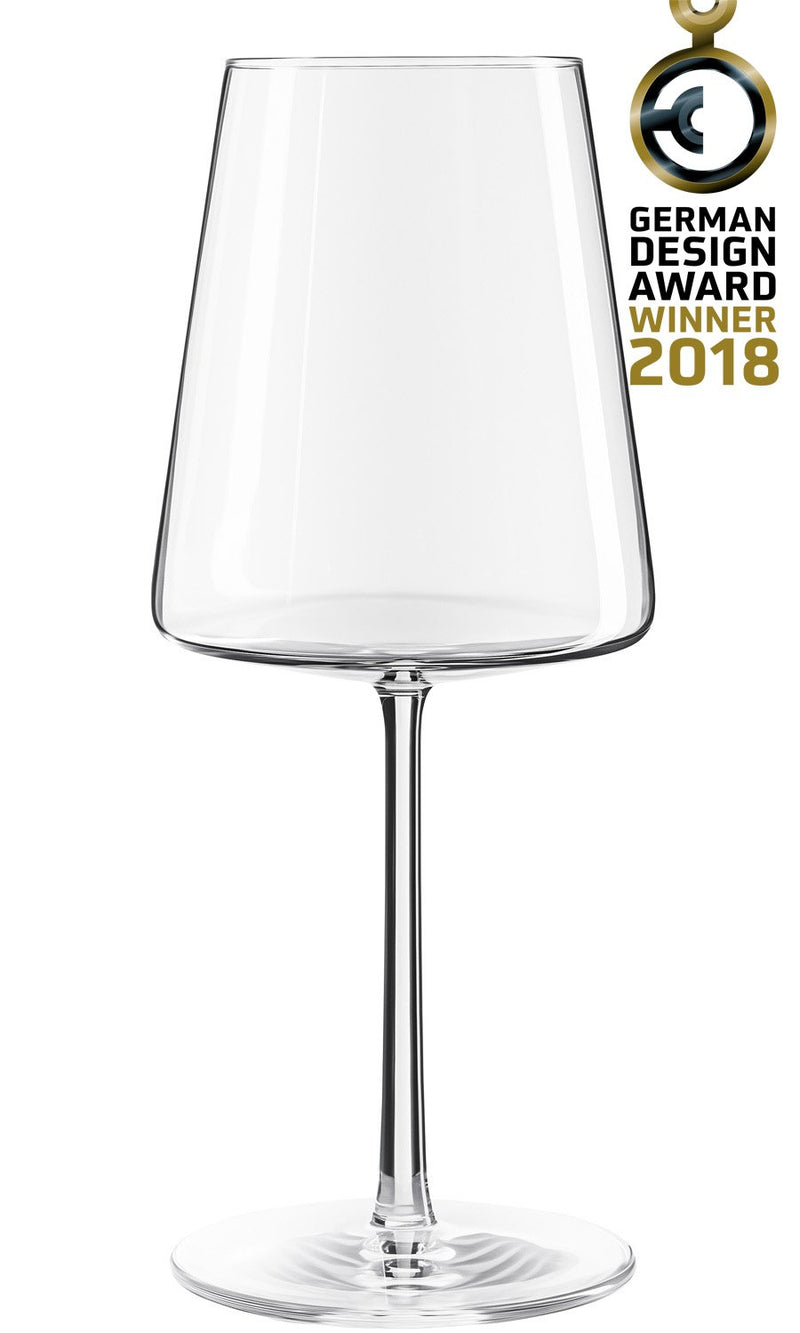 Stoelzle Power Red Wine Glass Lead Free Crystal