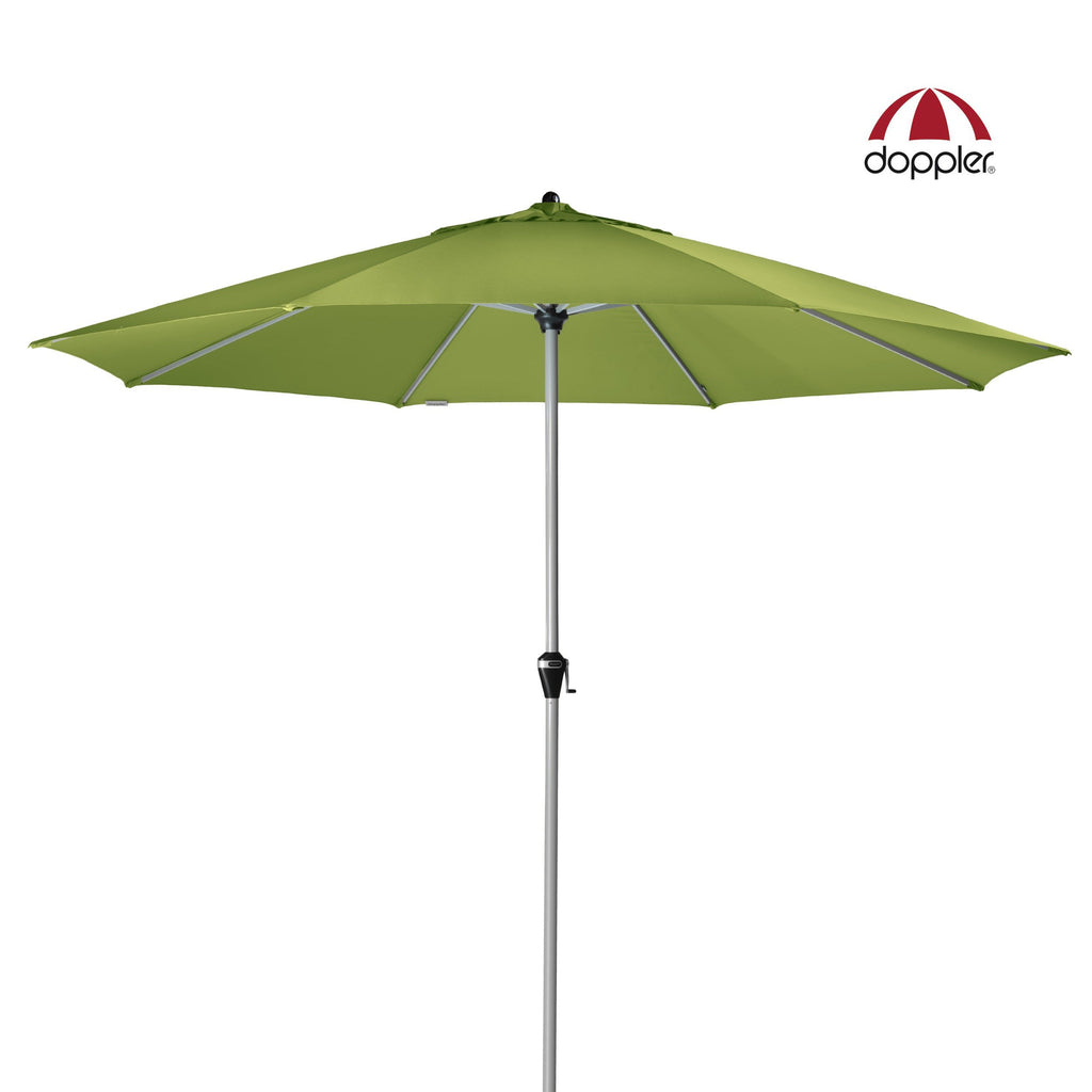 Giant 380cm Outdoor Aluminium Umbrella with UV 50+ protective fabric by Doppler