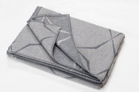 LIDO Cotton Honeycomb Throw | Grey | 140 x 200 cm