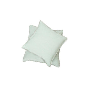 SYLT Cotton Cushion | Mint Green | 40 x 40 cm