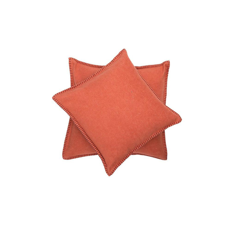 SYLT Cotton Cushion | Terracotta | 40 x 40 cm