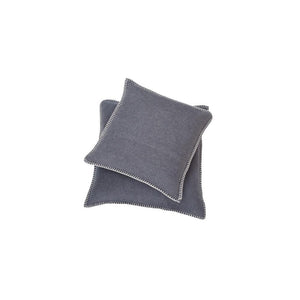 SYLT Cotton Cushion | Dark Grey | 40 x 40 cm