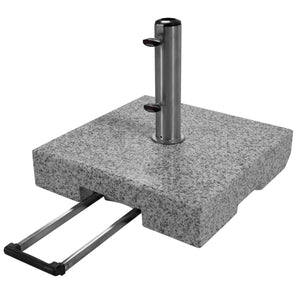 Umbrella Granite Base with Wheels 70kg