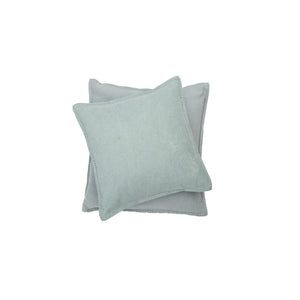 SYLT Cotton Cushion | Glass Green | 50 x 50 cm