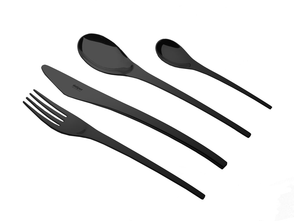 ARC 24 piece Cutlery Set - Matt Black