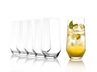 Stoelzle Revolution Longdrink Glass Lead Free Crystal