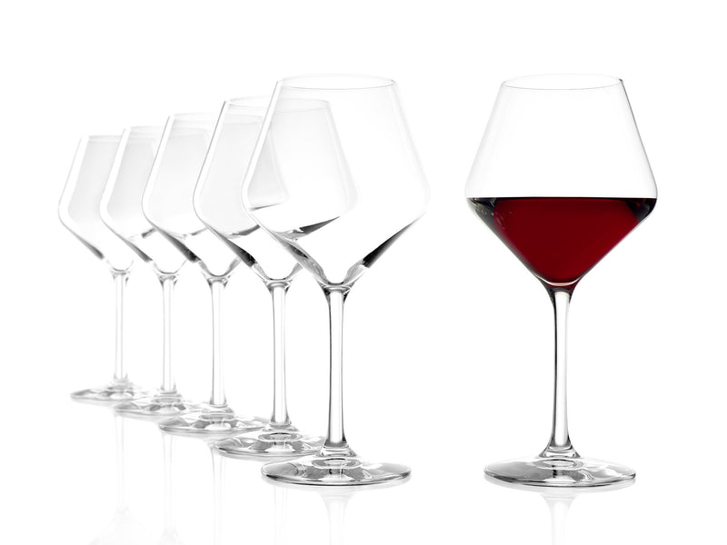 Stoelzle Revolution Red Wine Glass Lead Free Crystal