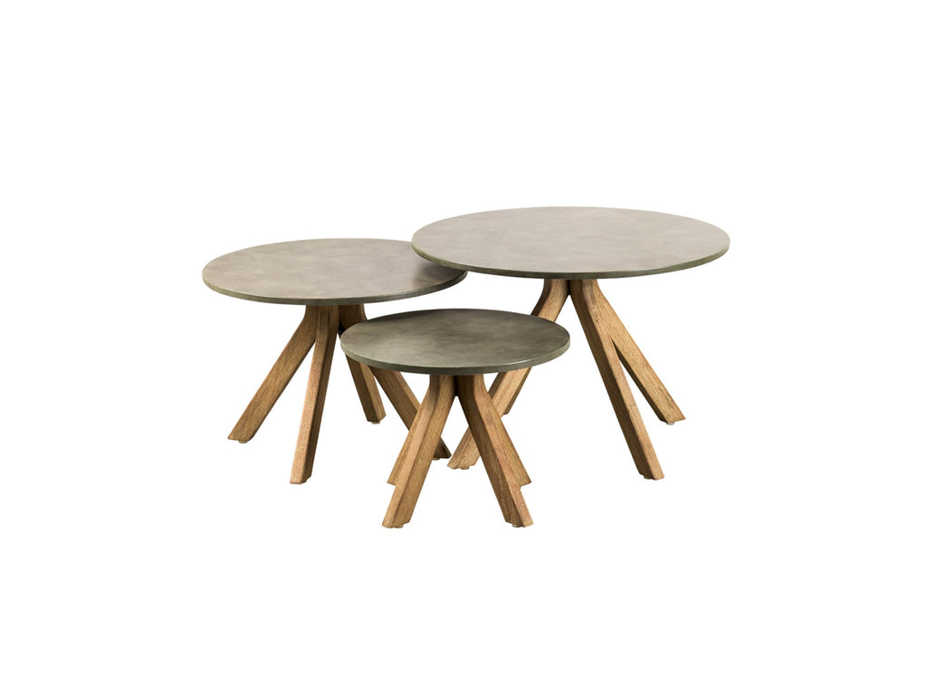 Lagos Outdoor round side tables