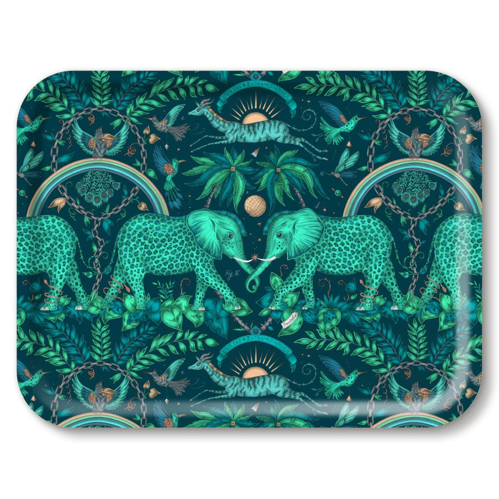 Birchwood Tray | Zambesi | Teal