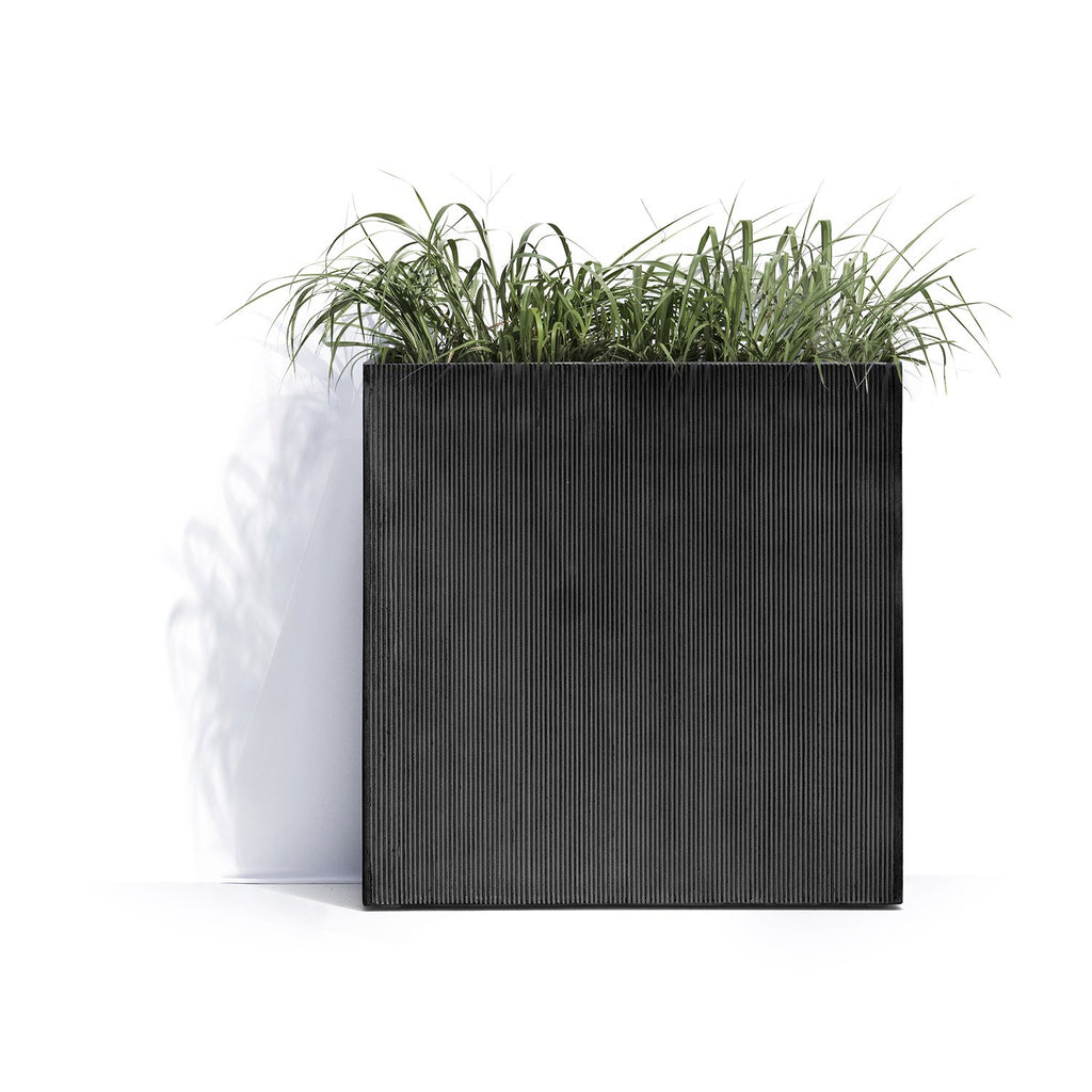 New York Square Planter Pot with Wheels by Cosapots