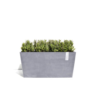 Ecopots Paris Planter Pot  made from Recycled Plastic