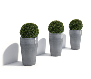 Ecopots Sankara High Round Planter Pot made from Recycled Plastic