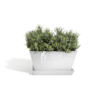Ecopots Berlin Square Planter Pot made from Recycled Plastic